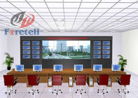 Wall Information Display Multiple TV Wall For Advertising System Full Metal Plate Frame