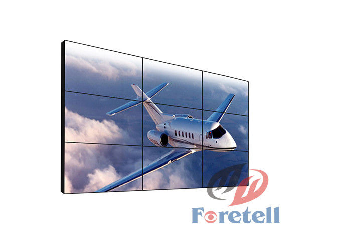 46 Inch LCD Video Wall Display For Advertising Display 3.5mm Ultra Narrow Bezel